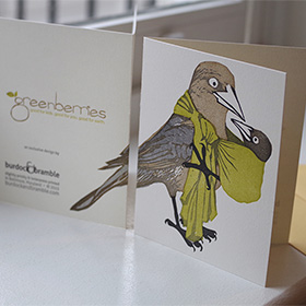 photo of greenberries grackle card